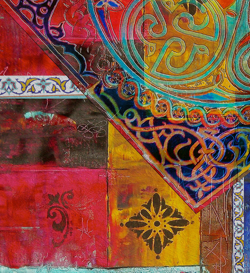 Arabic Motifs 11 Painting By Corporate Art Task Force