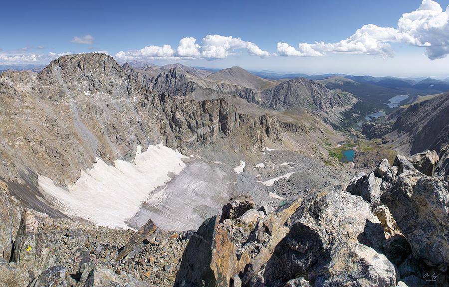 Arapaho Photograph - Arapaho Glacier by Aaron Spong