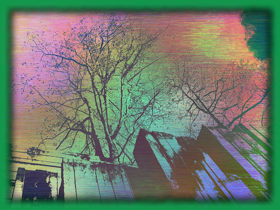 Arbor Digital Art - Arbor In The City 6 by Tim Allen