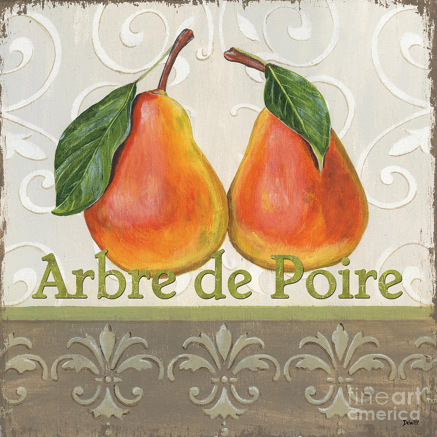 Kitchen Painting - Arbre De Poire by Debbie DeWitt