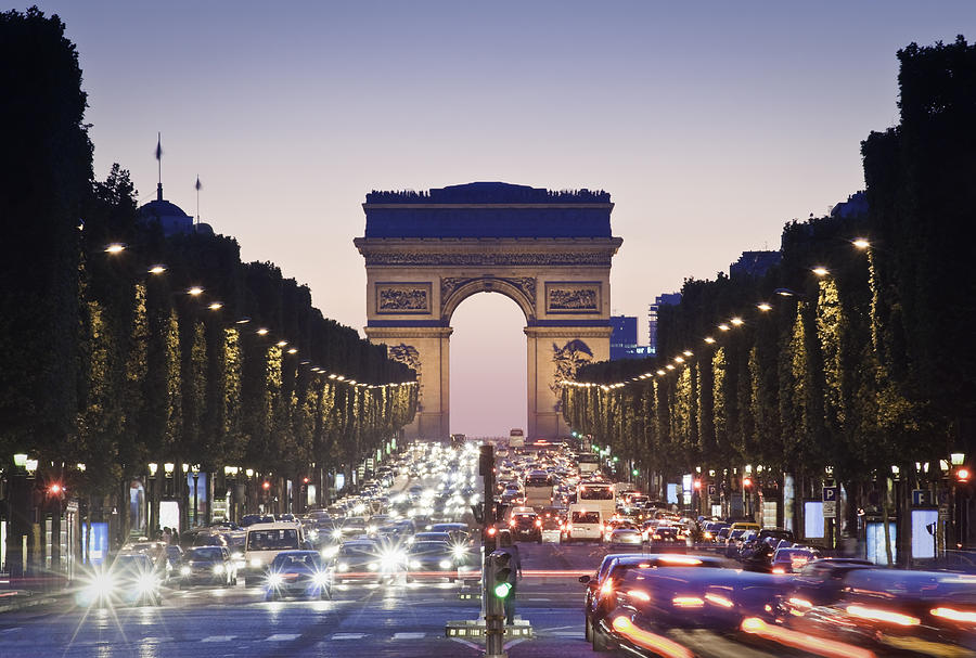 Arc De Triomphe, Paris Photograph by Matthewleesdixon