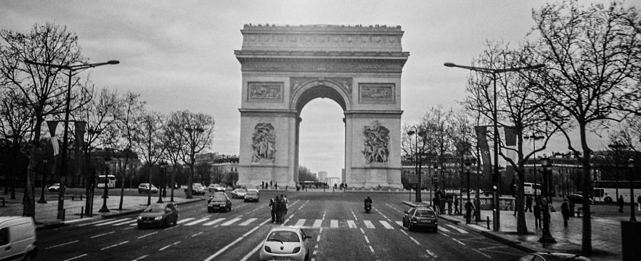 Paris Photograph - Arc De Triomphe by Steven  Taylor