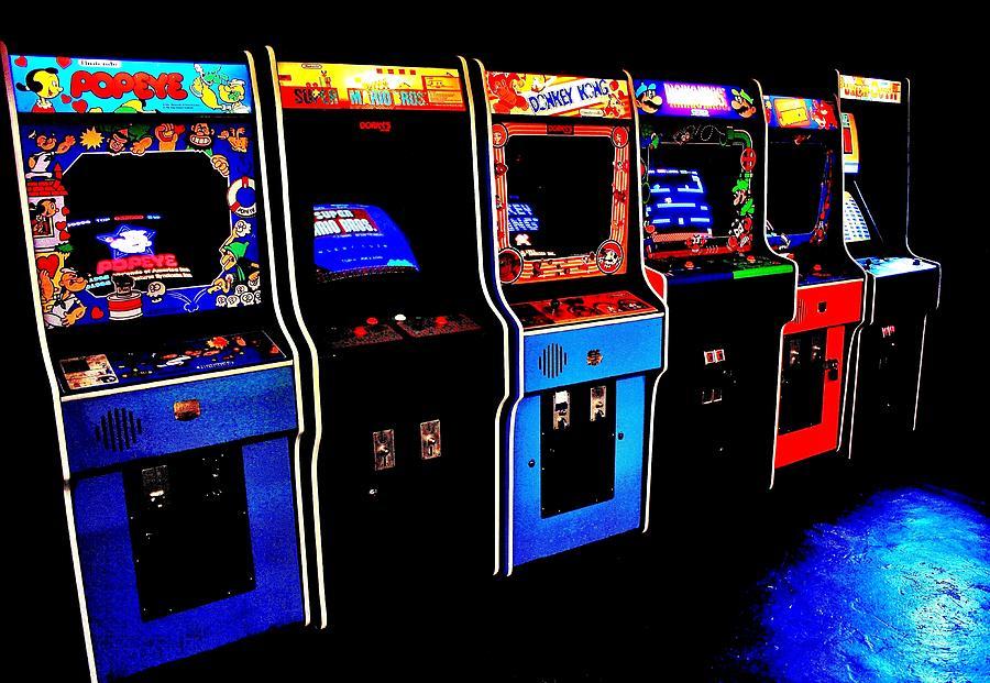 Nintendo Photograph - Arcade Forever Nintendo by Benjamin Yeager