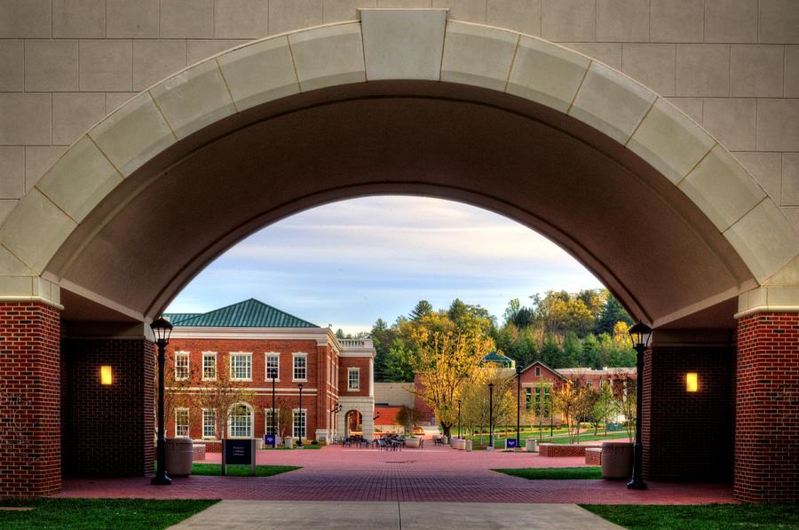 Western Carolina University Photograph   Arch At Balsam Hall   Western  Carolina University By Greg And Part 68