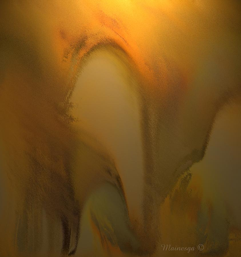 Abstract Digital Art - Arch by Ines Garay-Colomba
