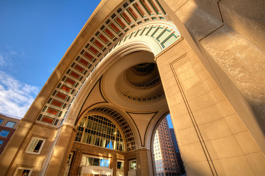 Boston Photograph - Arch by Lee Costa
