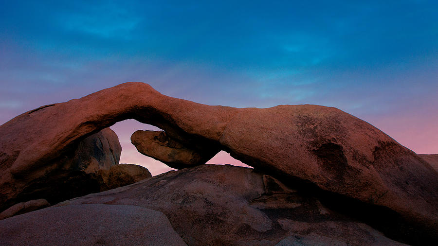 Arch Rock Evening - Joshua Tree National Park Photograph