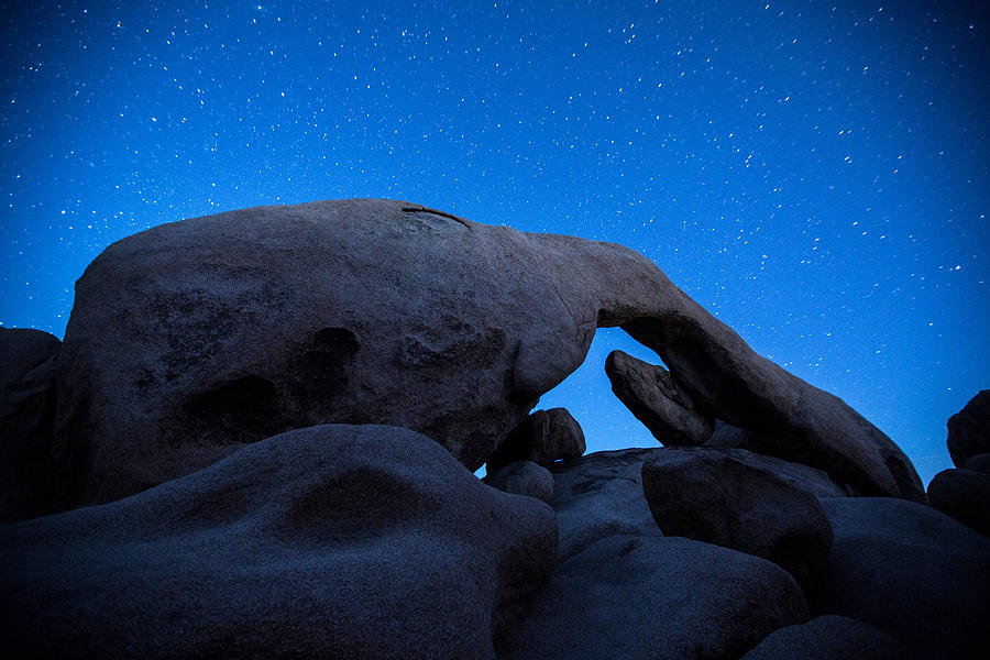 Arch Rock Starry Night 2 Photograph