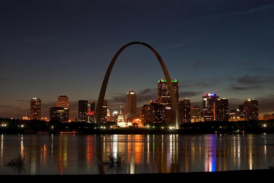 St. Louis Photograph - Arch Work by Joe Scott