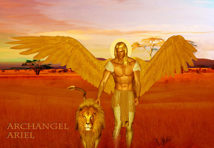 Archangel Ariel by Valerie Anne Kelly