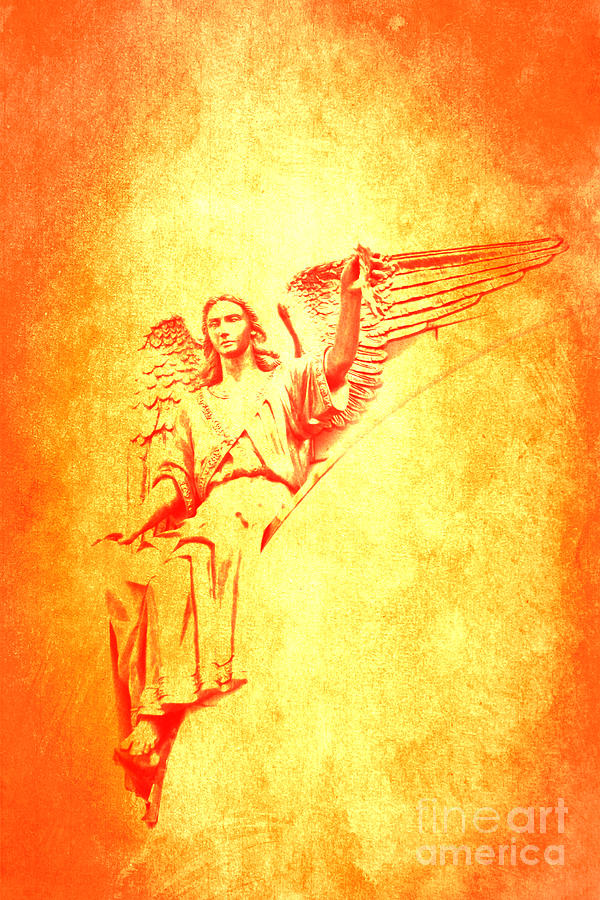 Archangel Photograph - Archangel Michael  by Lali Kacharava