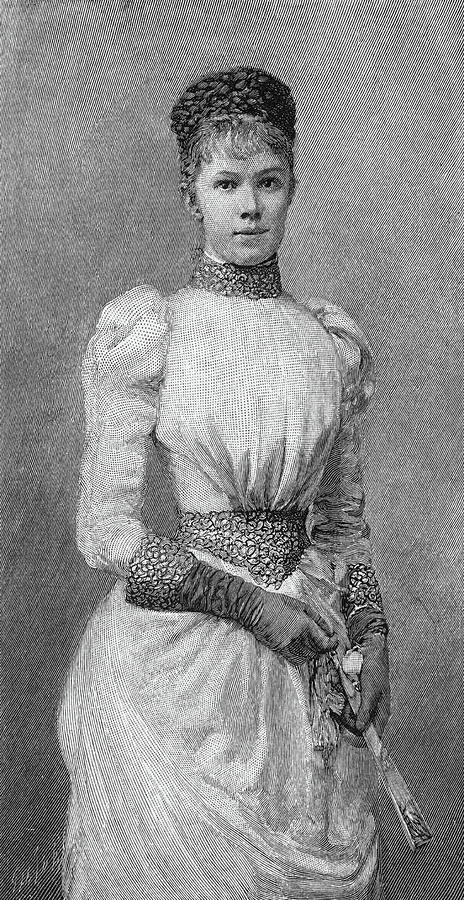 19th Century Painting - Archduchess Marie Valerie Of Austria by Granger
