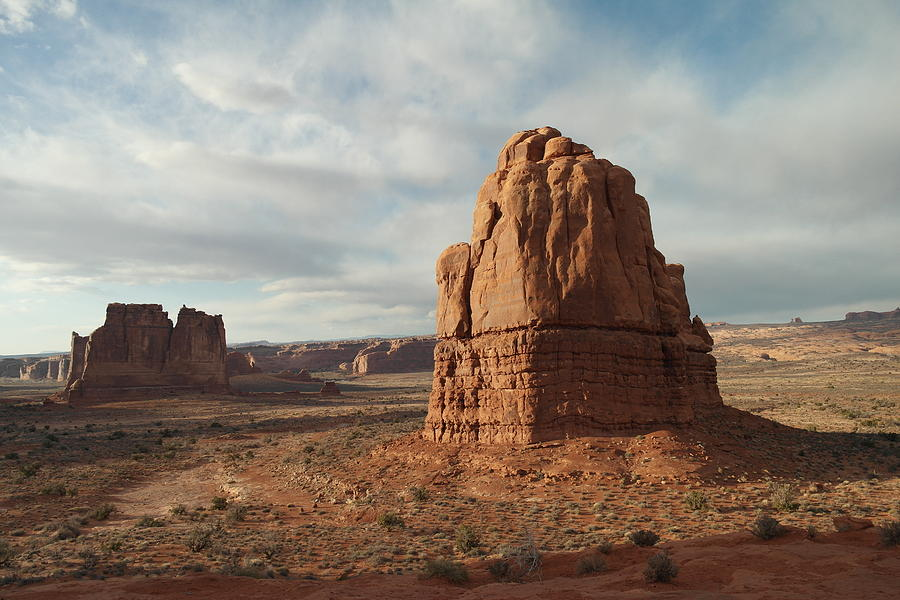 Mountains Photograph - Arches National Park by Jeff Swan