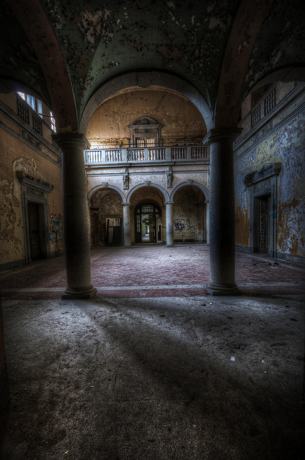 Urbex Digital Art - Arches Of Beauty  by Nathan Wright