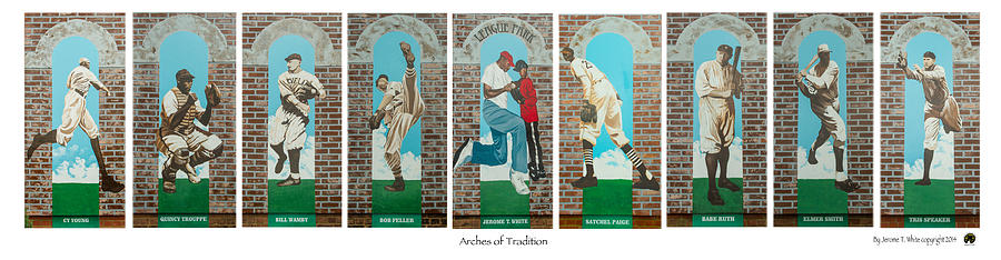 Arches Of Tradition Painting
