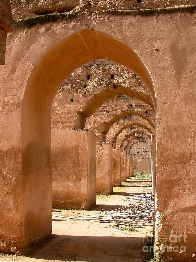Arches Photograph - Arches by Sophie Vigneault