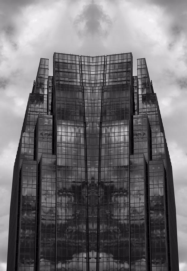 Architecture Photograph - Architects Dream Black And White by Dan Sproul