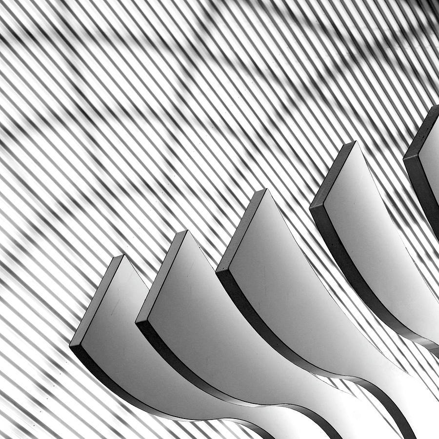 Architectural Abstract 4 - Interior Of Photograph by Lubilub
