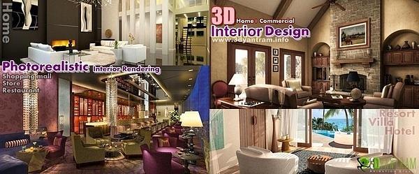 Architectural Rendering Digital Art by Ruturaj Desai