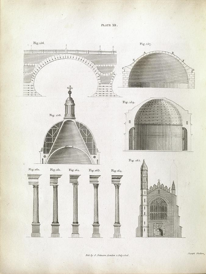 Bridge Photograph - Architectural Structures by Royal Institution Of Great Britain