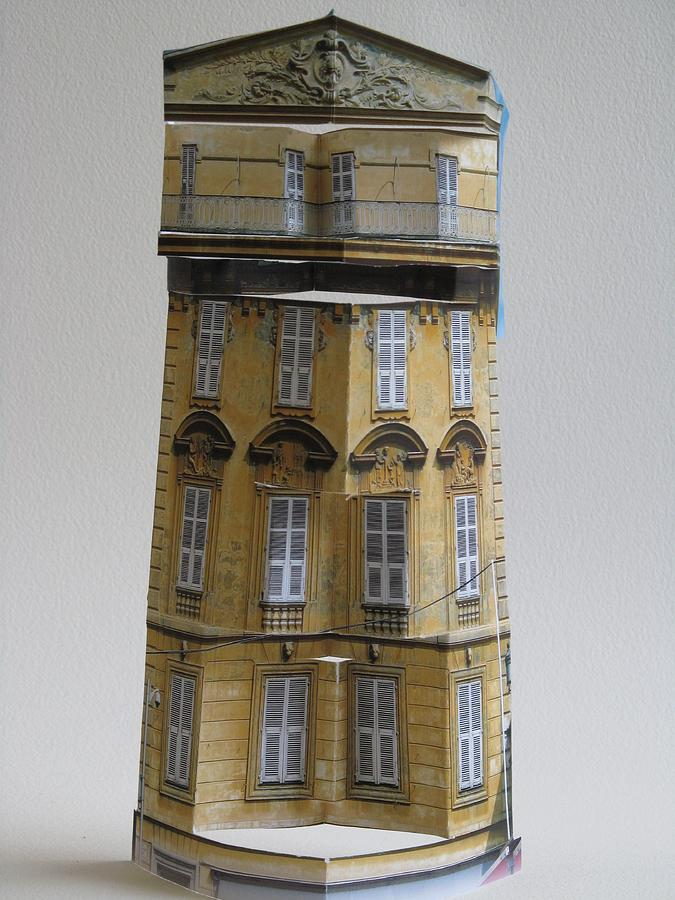 Architecture Sculpture - Architecture Reconstruction by Alfred Ng