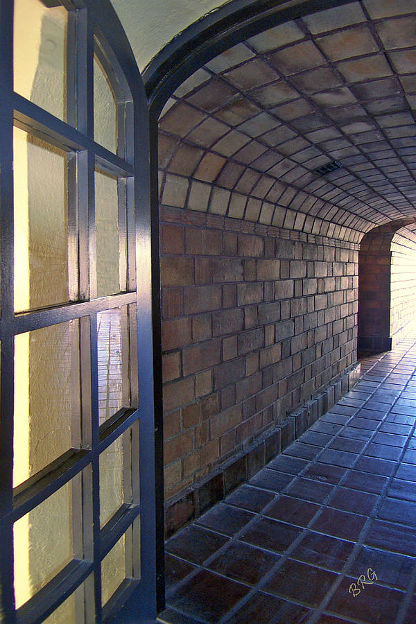 Passageway Photograph - Archway In Mission Inn Riverside by Ben and Raisa Gertsberg