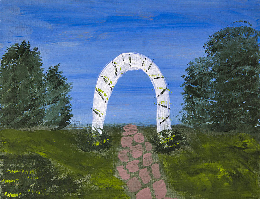 Arch Painting - Archway by Melissa Dawn