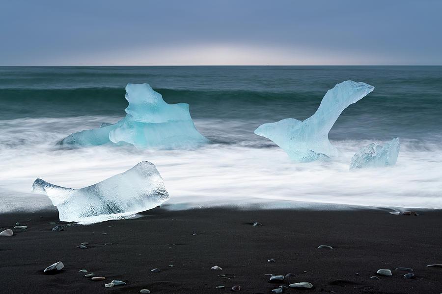 Arctic Ocean Jokulsarlon, Iceland Photograph by Daitozen