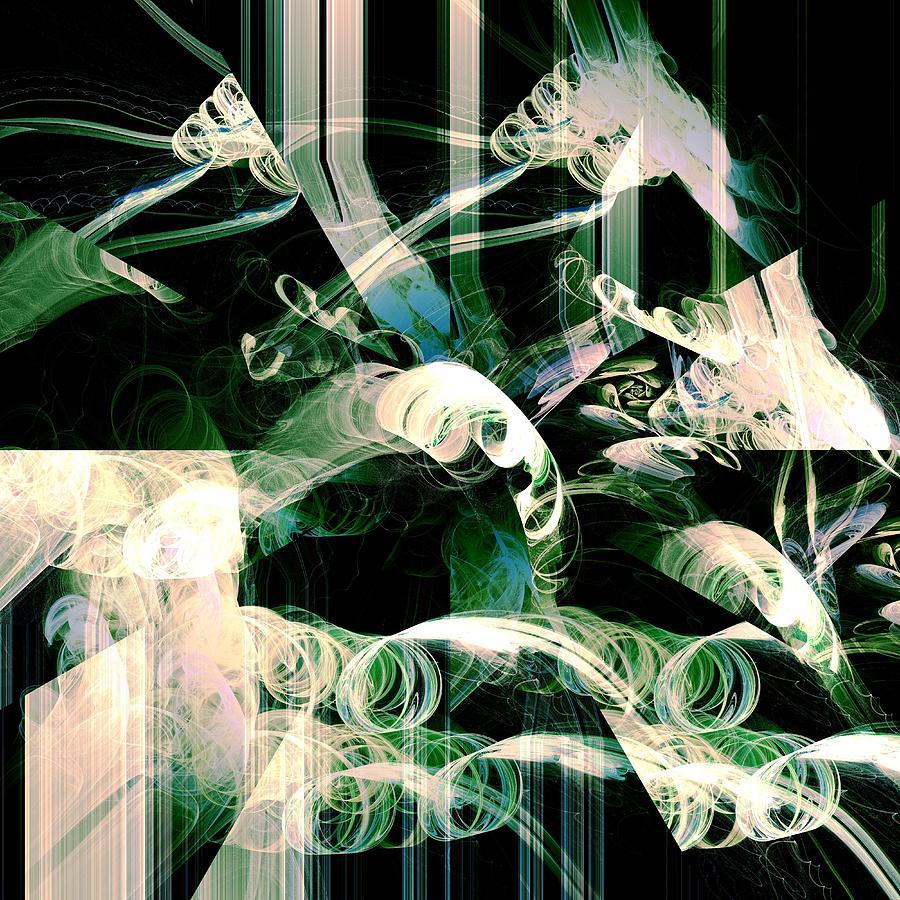 Abstract Digital Art - Ardua by Anastasiya Malakhova