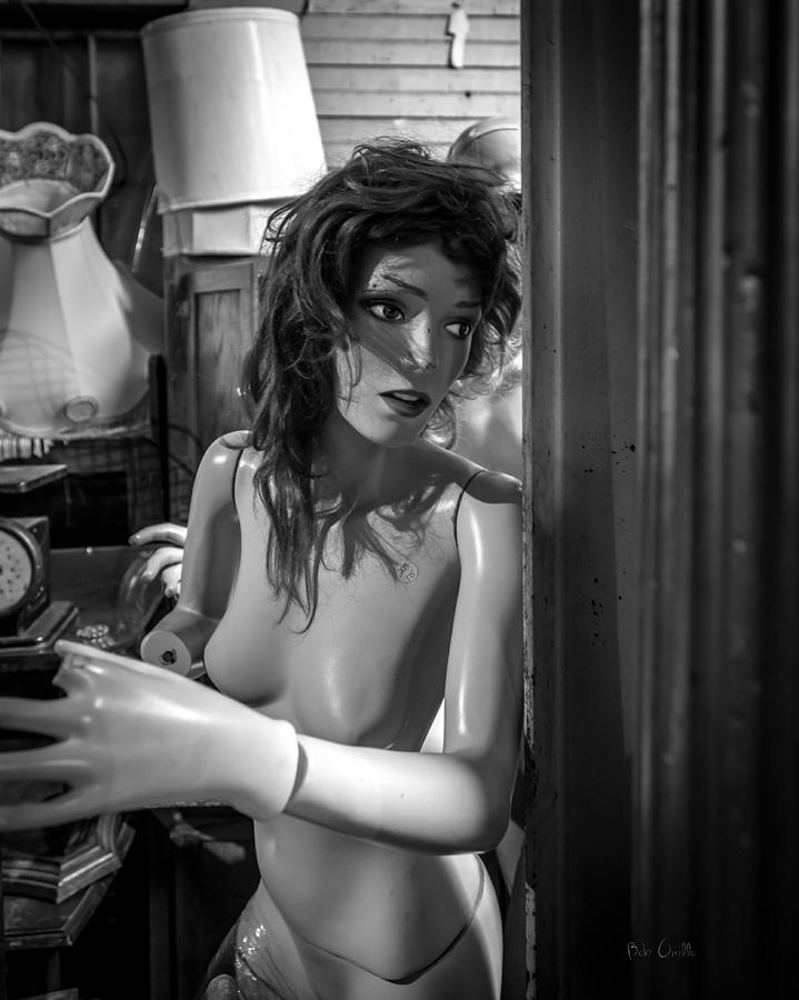 Woman Photograph - Are We Alone by Bob Orsillo