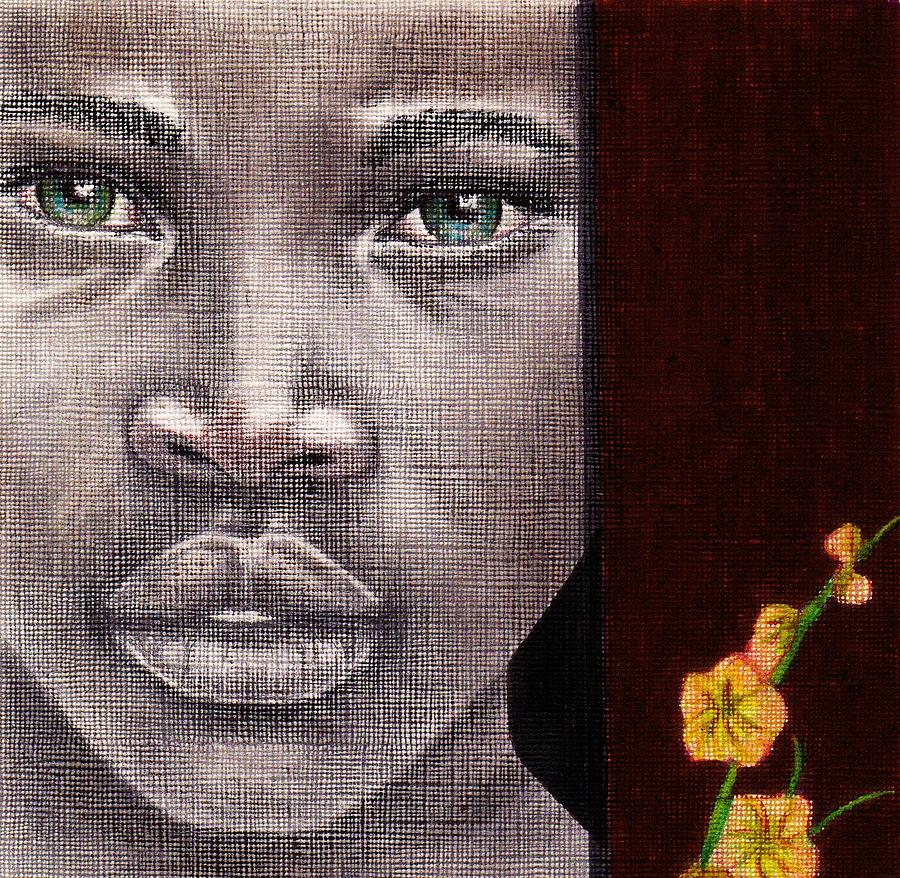 Colored Pencil Drawing - Are You Serious? by Edith Peterson-Watson