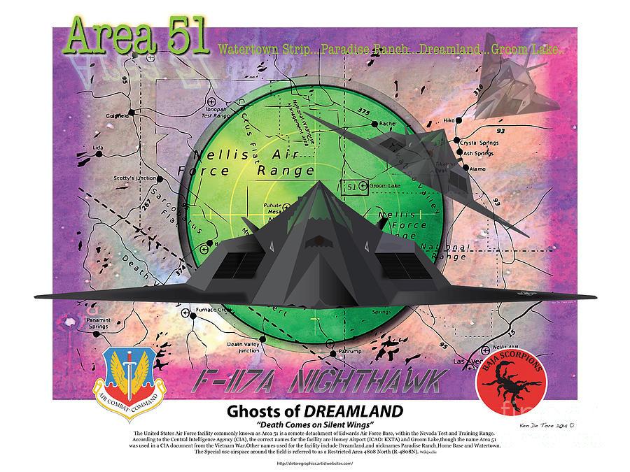 Area 51 by Kenneth De Tore