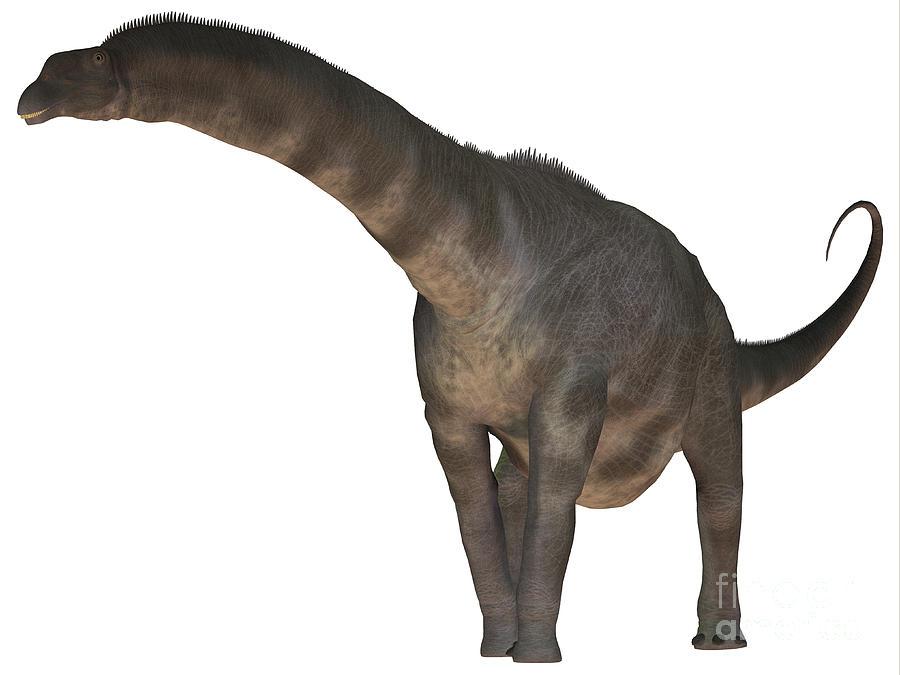 Argentinosaurus Dinosaur Digital Art