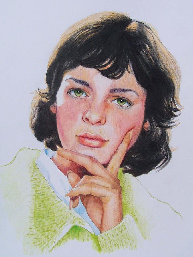Portrait Mixed Media - Ariane by Constance Drescher