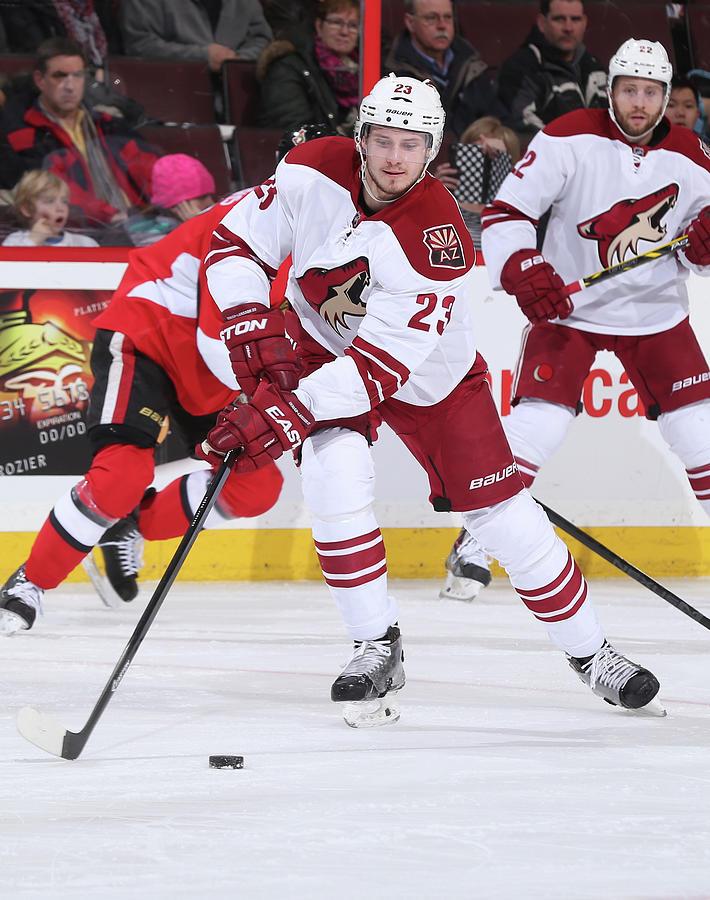 Arizona Coyotes V Ottawa Senators Photograph by Andre Ringuette