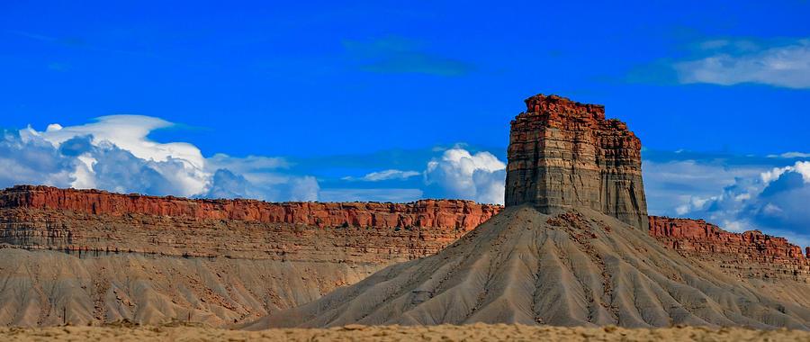 arizona desert mesa photograph by gene sherrill