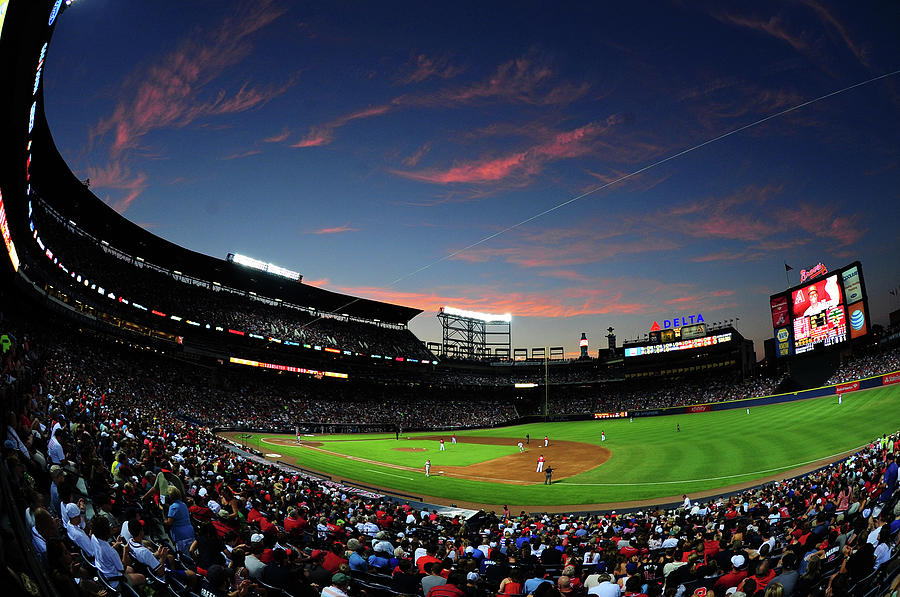 Arizona Diamondbacks V Atlanta Braves Photograph by Scott Cunningham