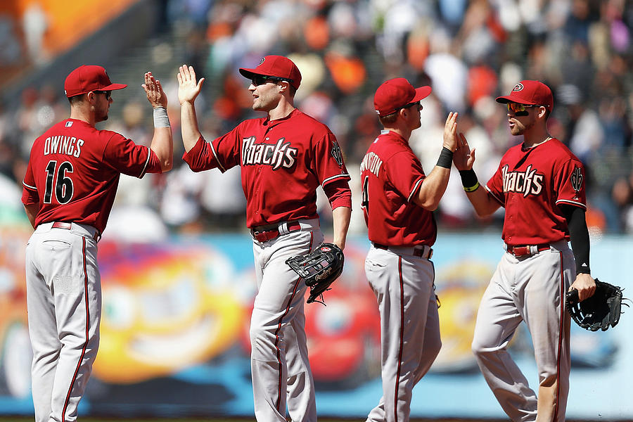 Arizona Diamondbacks V San Francisco Photograph by Lachlan Cunningham