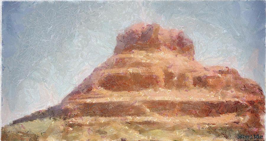 United States Of America Painting - Arizona Mesa by Jeff Kolker