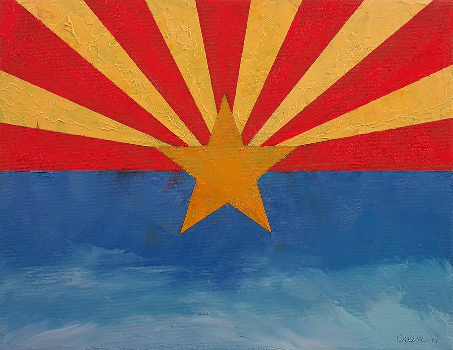 Arizona Painting - Arizona by Michael Creese