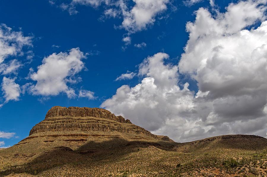 Joshua Photograph - Arizona Mountain Under Blue Skies by Willie Harper