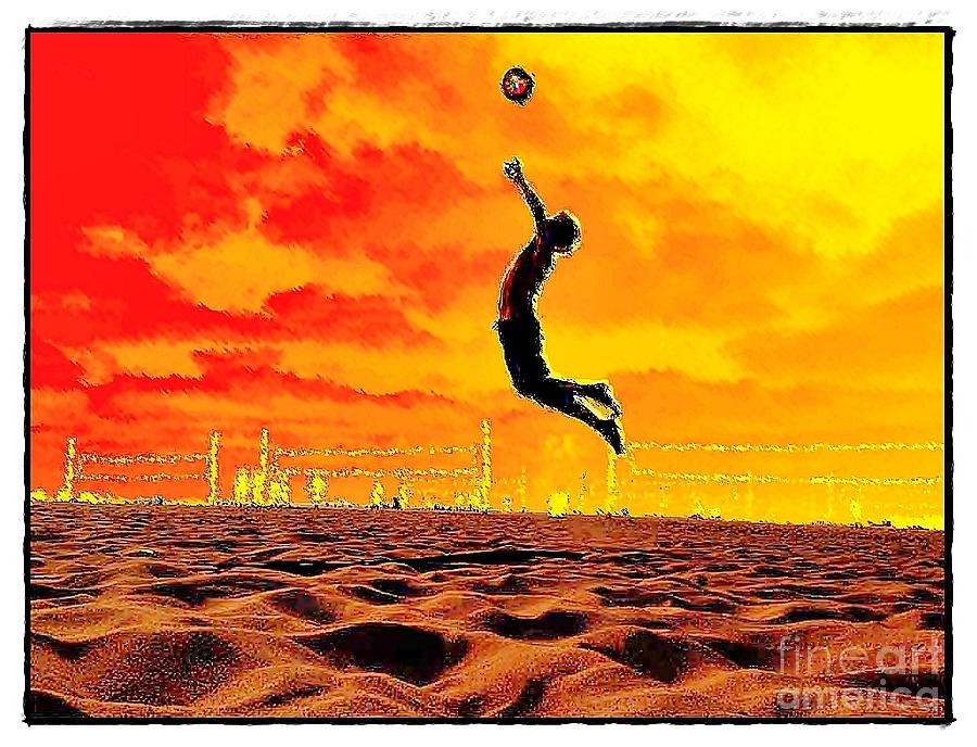 Volleyball Photograph - Arizona Rising by Scott Allison