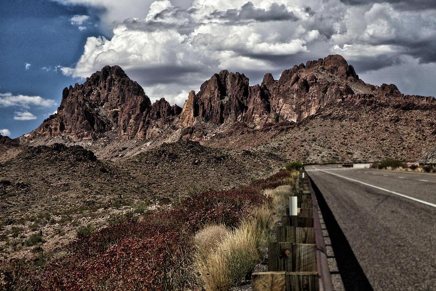 Arizona Pyrography - Arizona Road by Joyce Isas