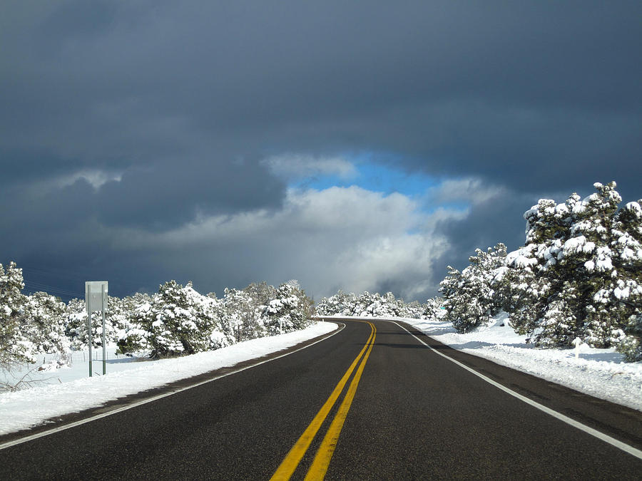 Arizona Snow 1 Photograph by Gregory Daley  MPSA