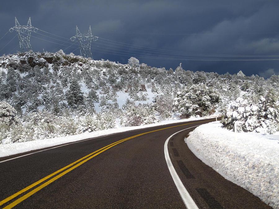 Arizona Snow 2 Photograph by Gregory Daley  MPSA