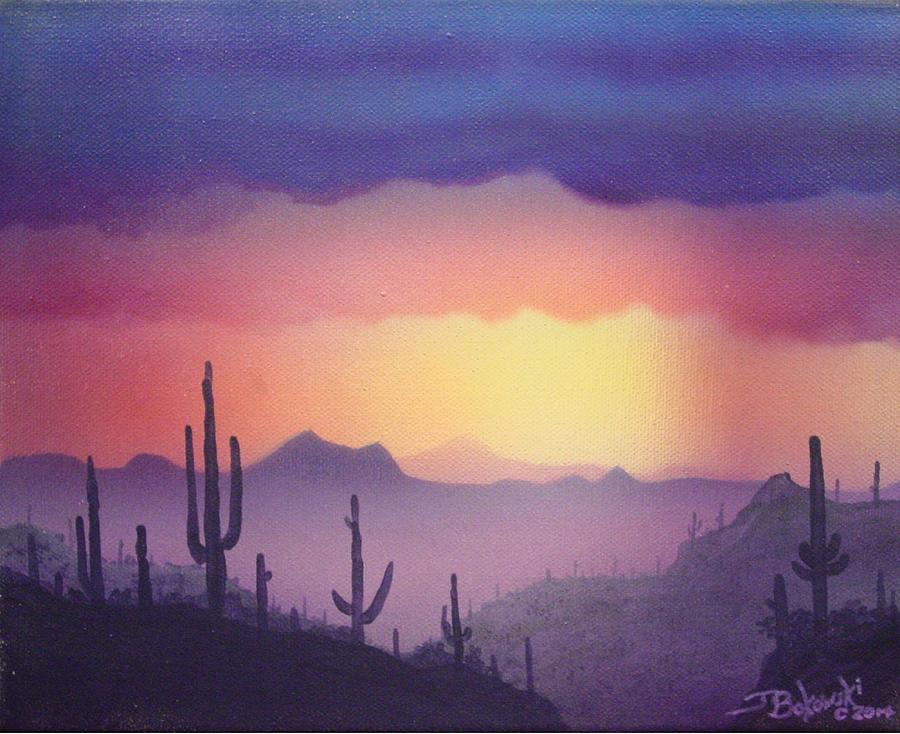 Arizona Sunset by Jerry Bokowski