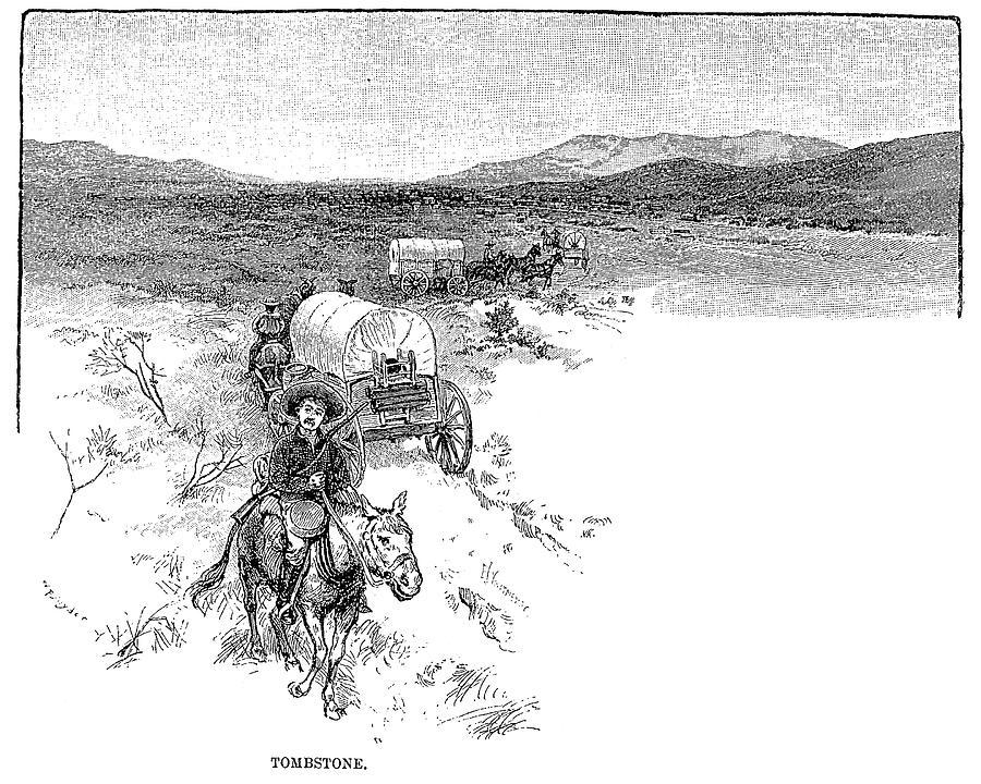 Arizona Tombstone 1883 By Granger