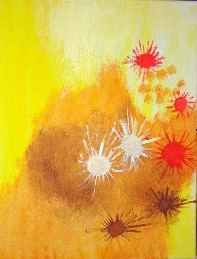 Arizona Painting - Arizona by Valerie Howell