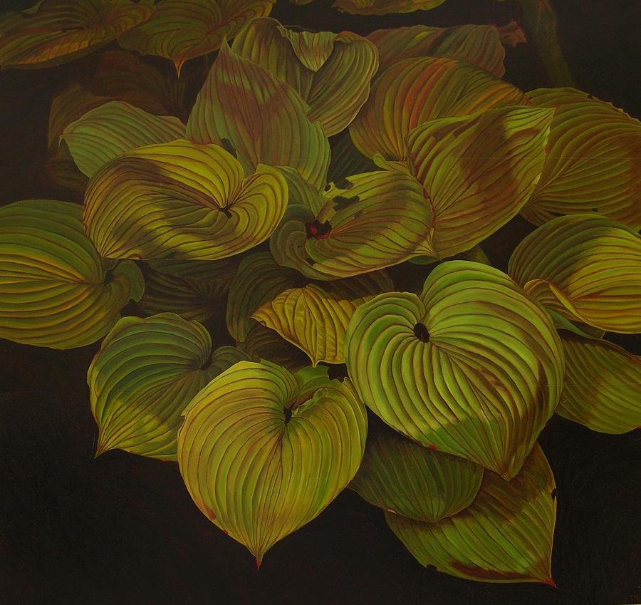 Plants Painting - Arkansas Green by Thu Nguyen