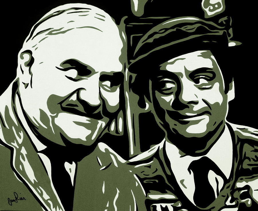Arkwright And Granville Painting by Ian  King